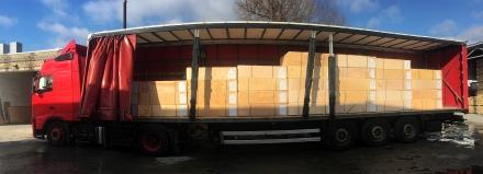 Пополнение складских запасов фанеры ФК производства Белоруссии - фото на сайте SISU