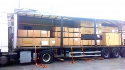 Пополнение складских запасов фанеры производства Latvijas Finieris - фото на сайте SISU