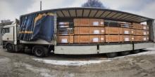 Пополнение складских запасов фанеры производства Латвии