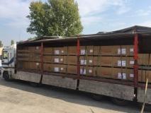 Пополнение складских запасов фанеры производства Latvijas Finieris!