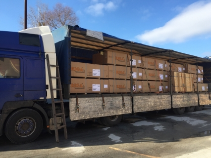 Пополнение складских запасов сортовой фанеры производства Latvijas Finieris - фото на сайте SISU